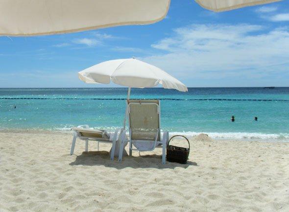 ブセナビーチ海
