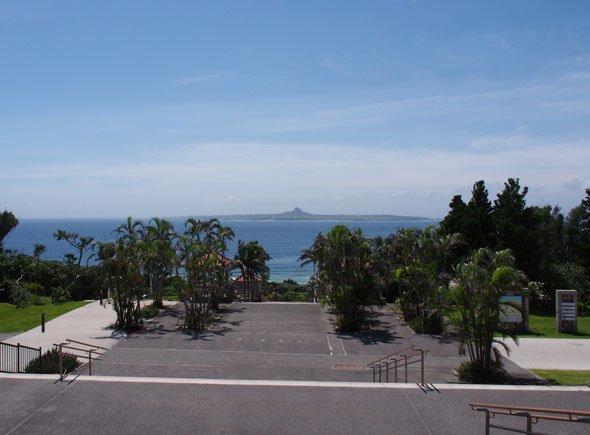 海洋博公園から見る東シナ海