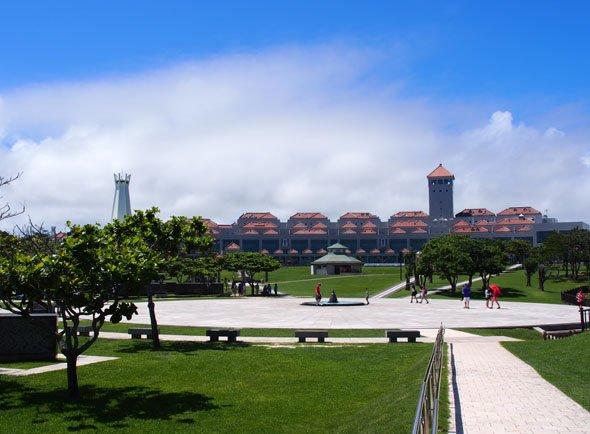 沖縄平和祈念堂と沖縄平和祈念資料館