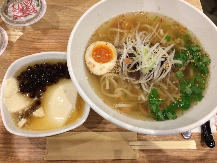 横浜・春水堂ランチメニュー