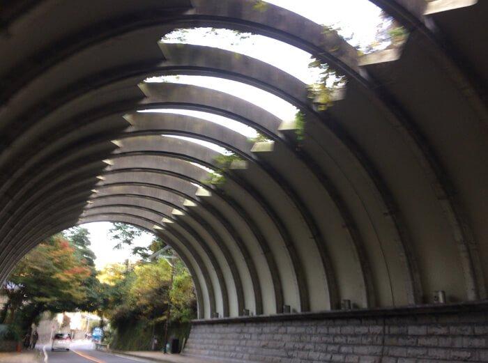 鎌倉のトンネル