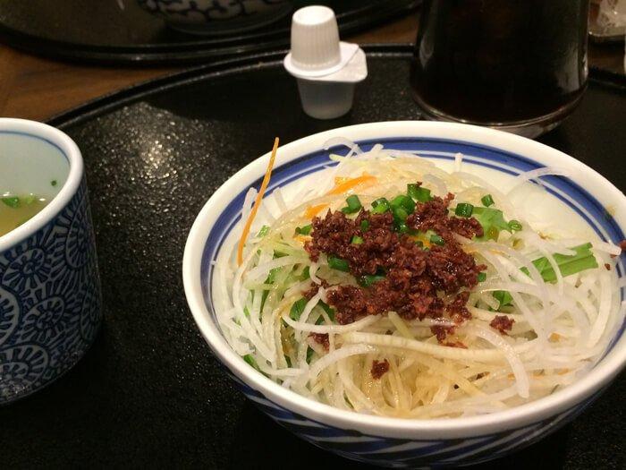 洋麺屋五右衛門サラダ