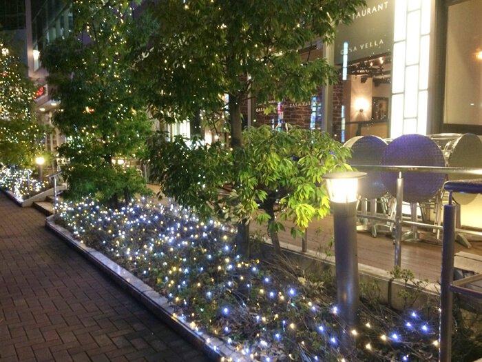 横浜天然温泉SPA EAS(スパイアス)イルミネーション