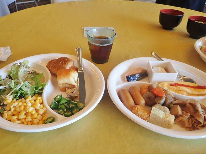 ロワジールホテル那覇の朝食バイキング