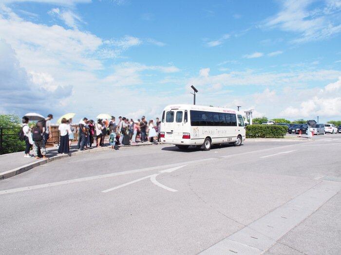 ウミカジテラスシャトルバス