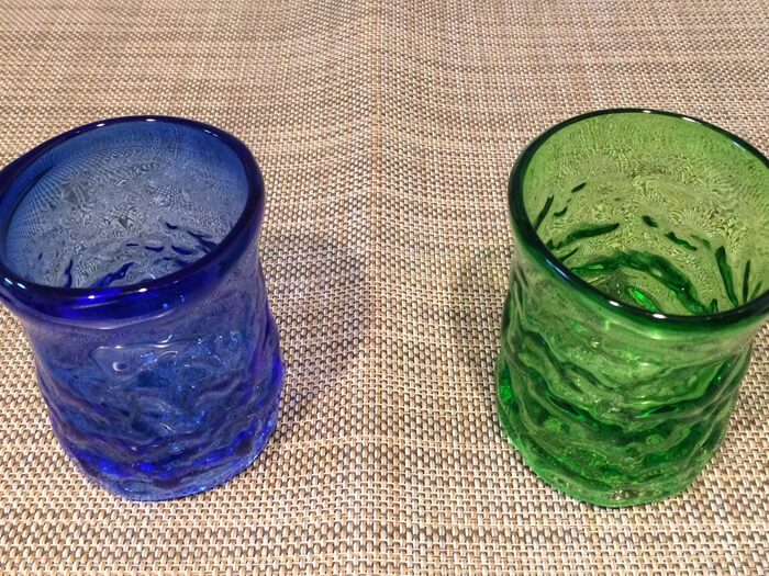 琉球ガラス村のグラス
