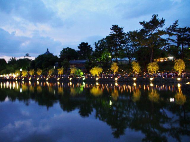 奈良燈花会2014